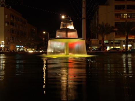 מתקן מים ציבורי בתל אביב (אילוסטרציה)